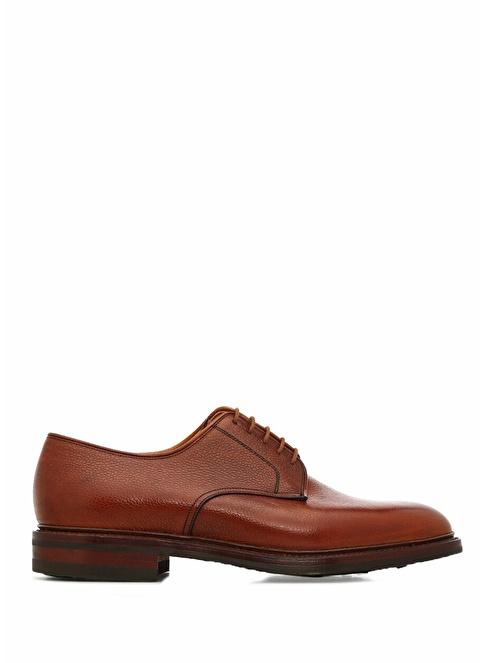 Crocket & Jones %100 Deri Bağcıklı Klasik Ayakkabı Kahve